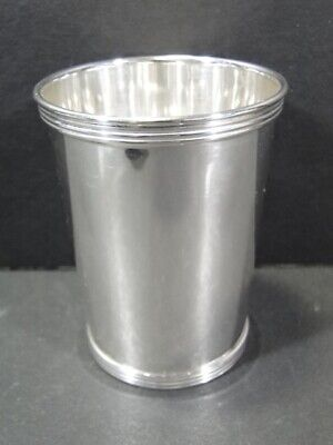 CARTIER Sterling Silver MINT JULEP CUP - No Mono - 10125-13 #3 Goblet