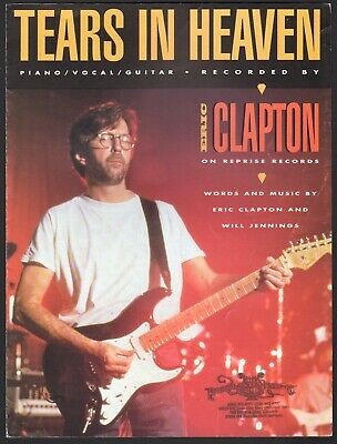 Eric Clapton Sheet Music Anthology Piano Vocal Guitar SongBook NEW 000264982