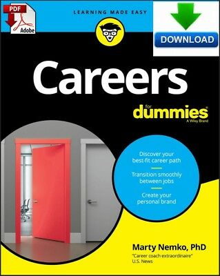Careers For Dummies - read on PC, PHONE or TABLET -  Fast PDF DOWNLOAD