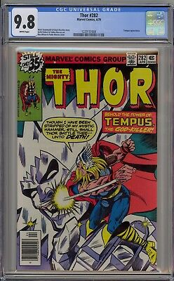 The Mighty Thor #282 (1979) ~ CGC 9.8 WHITE pages ~ HIGHEST GRADED