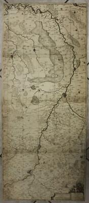 Maastricht Netherlands & Limbourg Belgium 1706 Van Medtman Large Antique Map