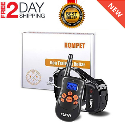 Dog Shock Training Collar With Remote Coach Electric Trainer Small Large Big NEW