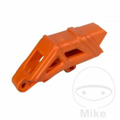 For KTM EXC 250 2T Sixdays 2012 Polisport Orange Chain Guide
