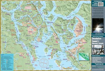 105 Desolation Sound/Discovery Islands Waterproof Map