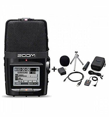 New ZOOM H2n Handy Portable Recorder PCM / Accessoary Kit APH-2n