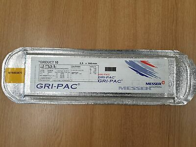 GRIDUCT 10 Lincoln Low Hydrogen E7018-G 2.5x350mm Electrodes - Approx 40 Rods