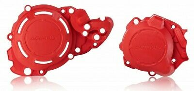 Acerbis X Power Beta RR 250 300 18-19 RC X-Trainer Clutch Ignition Covers Red