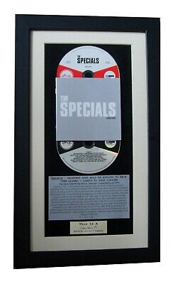 THE SPECIALS Encore CLASSIC CD Album GALLERY QUALITY FRAMED+EXPRESS GLOBAL SHIP