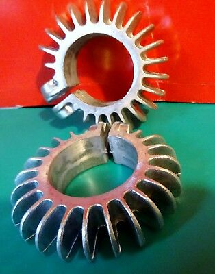 Bsa A7/a10/ & A50/a65...exhaust Pipe Cooling Fin Rings...2 Of