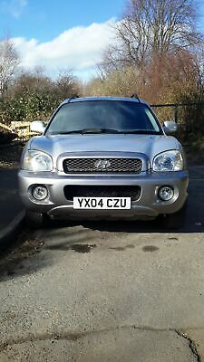 No reserve!! Hyundai santa fe with high spec