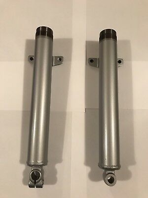 NOS Yamaha TY50 Outer Fork Tubes - Pair *Rare*