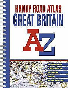 A-Z Great Britain: Handy Road Atlas, Geographers' A-Z Map Company, Used; Good Bo