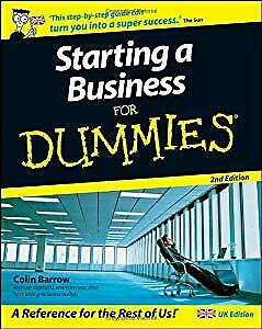 Starting a Business For Dummies�, 2nd Edition, Barrow, Colin, Used; Good Book