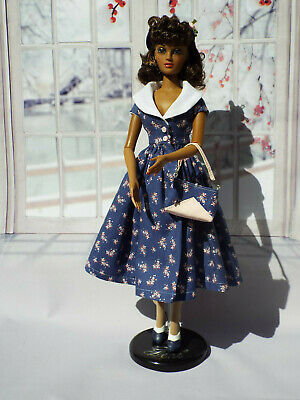 OOAK 50's style dress outfit for Gene and friends