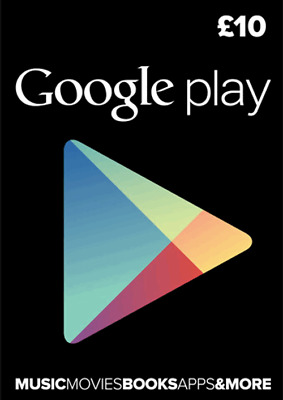 10 Gbp Google Play Gift Card £