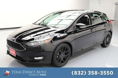 2016 Ford Focus SE Texas Direct Auto 2016 SE Used 2L I4 16V Automatic FWD Hatchback