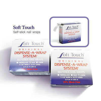 Soft touch Dispense A Wrap System Self Stick Nail Wraps Choose any one