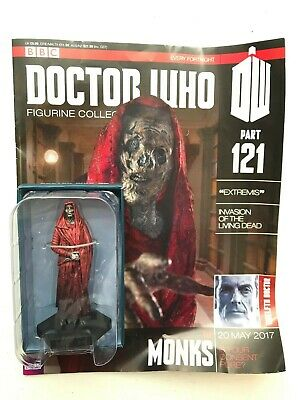 Bbc Dr Doctor Who Figurine Collection Issue 121 The Monks Eaglemoss + Magazine