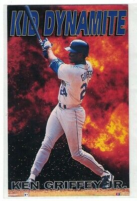 "Early 1990's Costacos Mini 6"" X 4"" Promo Poster Kid Dynamite Ken Griffey Jr."