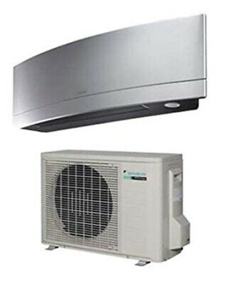 Daikin Emura Air Conditioning Unit FTXJ20MW With WiFi Adaptor 2KW (fitted Price)