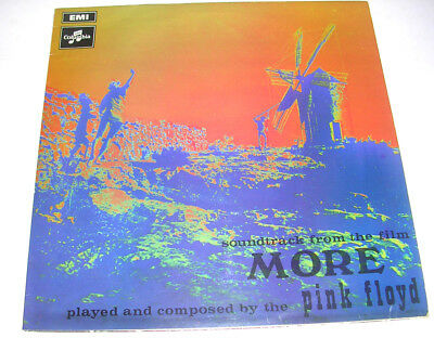 Pink Floyd 'soundtrack From The Film More' 1969 Stereo Lp Ex/vg