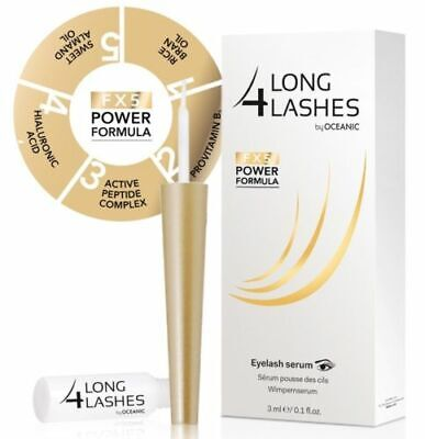 LONG 4 LASHES FX5 POWER FORMULA EYELASH GROWTH ENHNACING SERUM 3ml - Oceanic