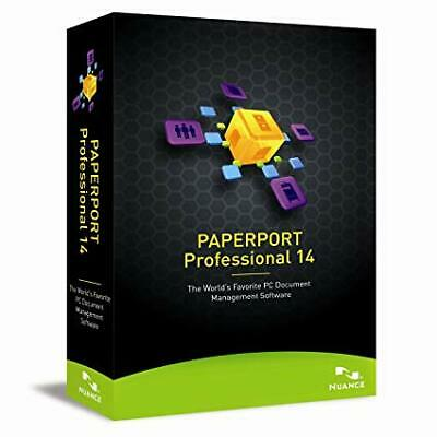"""Nuance PaperPort 14.5 Professional  For windows7/8/8.1 """"Multilingual"""""""