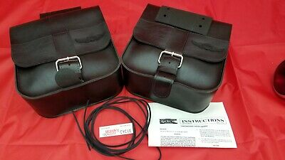 Harley-Davidson Saddlebag Kit, Throwover - NOS OME 90570-86TA