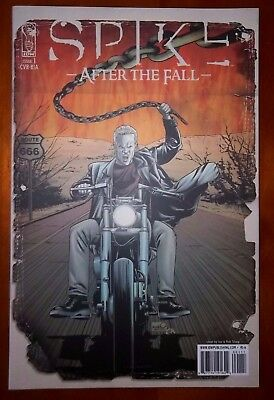 Spike After The Fall #1 Cover R1A IDW comic Joe and Rob Sharp cover