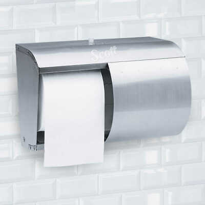 Kimberly Clark Professional Double Roll Coreless Toilet Paper Dispenser 09606 NR