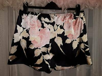 M&S Silky Shiny Poly Satin French Knickers Tap Panties  UK 18  [Z75