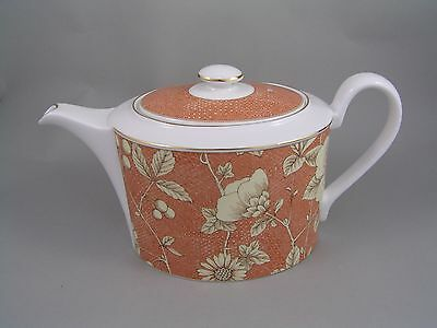 Wedgwood Frances Peach Large Large Teapot.