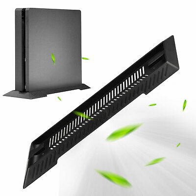 For Sony Playstation PS4 Slim Game Console Vertical Stand Dock Mount Base Holder