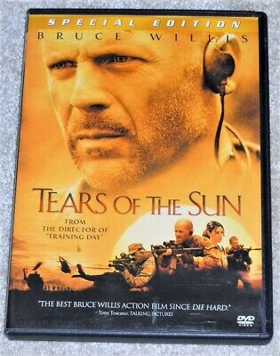 Tears of the Sun DVD 2003 Special Edition Bruce Willis Monica Bellucci WS