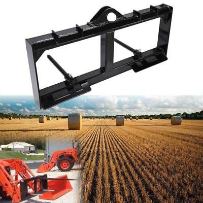 """49"""" Hay Spear Tractor Front Loader Attachment 3,000 lb Spike Skid Steer"""
