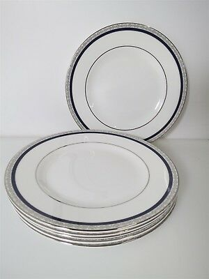 Set of 6 Wedgwood Seville 8 Inch Salad Plates Excellent Condition