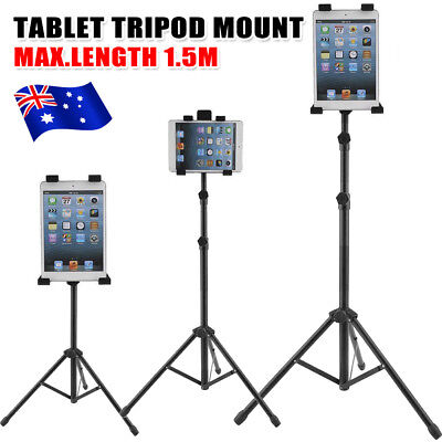 Tripod Multi Function Music Stand For Ipad 2 3 4 5 Air 2 Tablets Adjustable