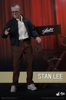 "Hot Toys 1/6 Marvel MMS327 Stan Lee Masterpiece 12"" Action Figure"