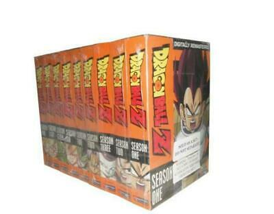 Dragon Ball Z Complete Series 1-9 DVD 54 Disc Set In English Region 1 NEW&SEALED