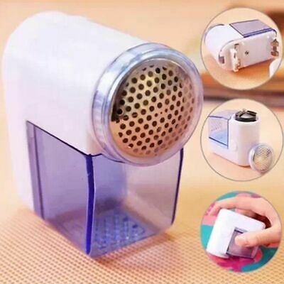 Cordless Battery Operated Lint Remover Bobble Fabric Clothes Dust Debobbler