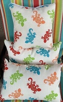 New Allen Roth Set Of 2 Pillows Paisley Indoor Outdoor Pillow