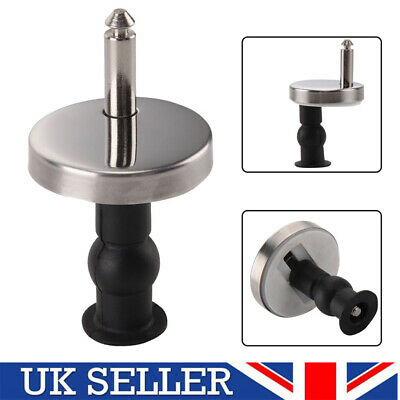 Pair Of Quality Top Fix Wc Toilet Seat Hinge Fittings Quick Release Hinges Uk