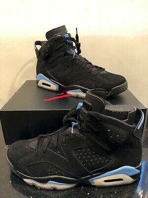 premium selection 5dfc2 b9310 NIKE SHOES SIZE 13 Air Jordan 6 Retro Black / University Blue UNC Retro  Athletic