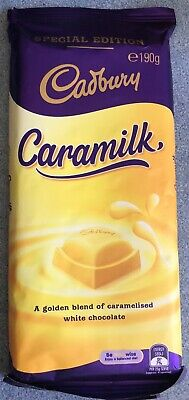 1 x Cadbury Caramilk 190g Block **NOT RECALLED** Only BB 22/01 not Used by.
