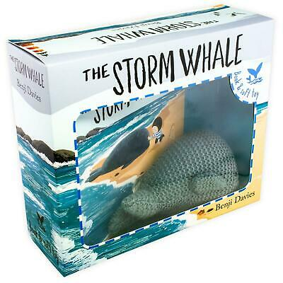 The Storm Whale Hardback Childrens Book Box Pack & Soft Toy Gift