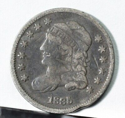 1835 Capped Bust Silver Half Dime