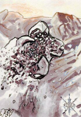The Hobbit Battle Of Five Armies Sketch Card By Ted Dastick Jr