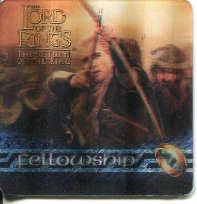 Lord Of The Rings ROTK Action Flipz Lenticular Tin Exclusive Card CiT1