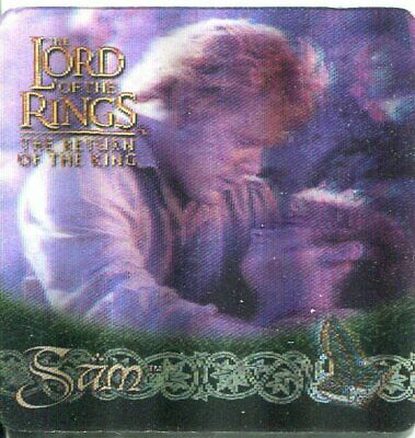 Lord Of The Rings ROTK Action Flipz Lenticular Promo Card P1