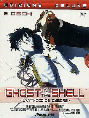 Ghost In The Shell 2 - L'attacco Dei Cyborg  Dvd Anime
